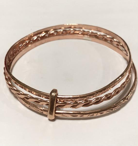 Connected & Bound Copper Bangles