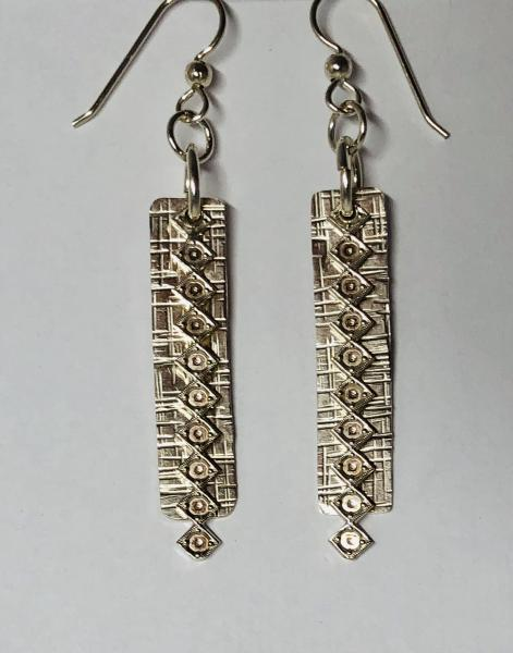 Textured 2-Layers Earrings