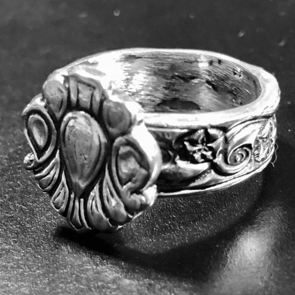 Classic Emblematic Sterling Silver Ring picture