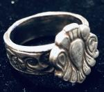 Classic Emblematic Sterling Silver Ring