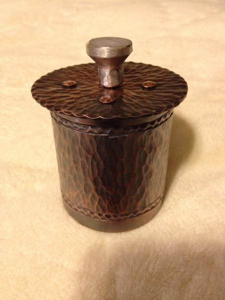 Small Copper Box with Lid