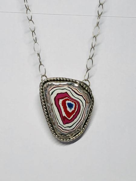 Corvetteite & Sterling Silver Necklace picture