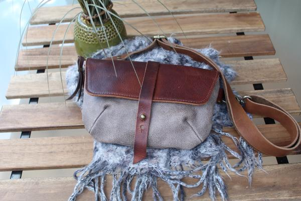 Leather Waist bag in two colors