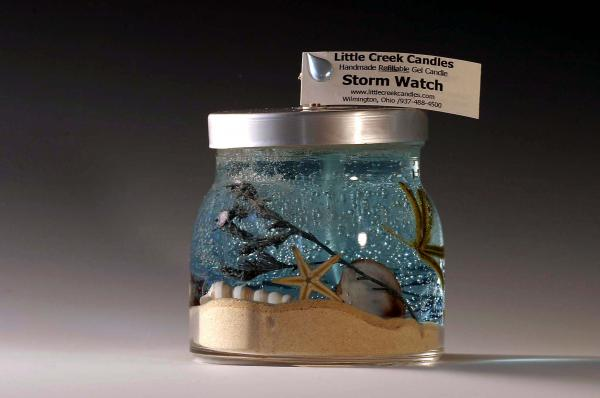 storm watch gel candle