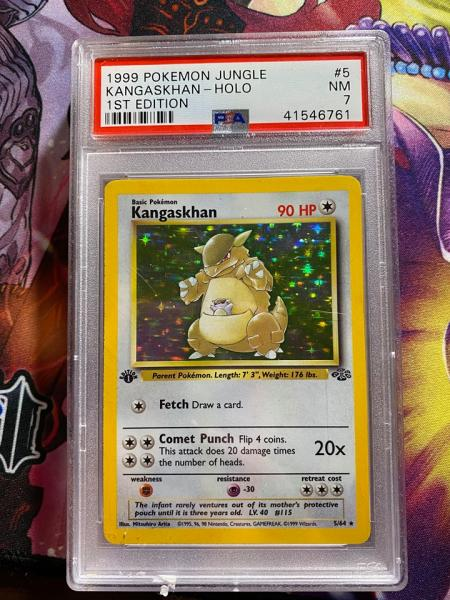 Kangaskhan PSA 7 first edition