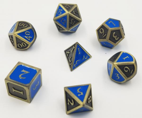 House Pride: Wisdom Metal Dice Set picture
