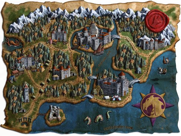 Dragon Con Fantasy Map