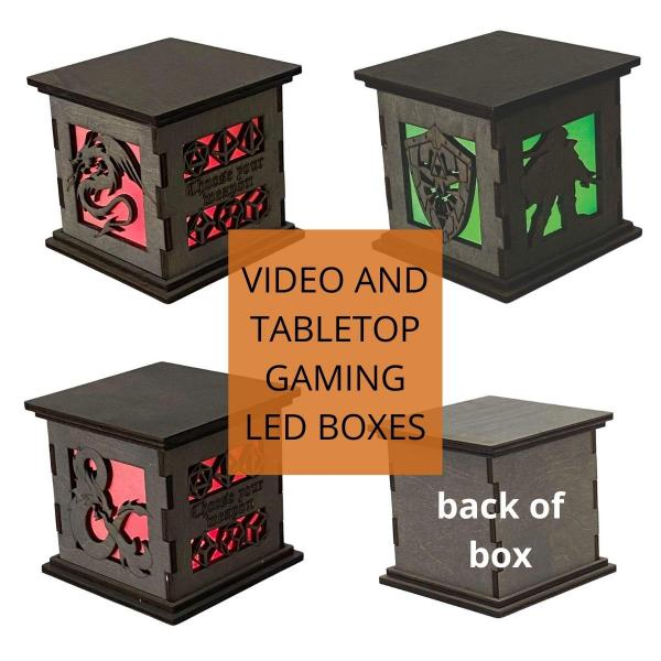Tabletop and Videogaming LED Centerpieces picture