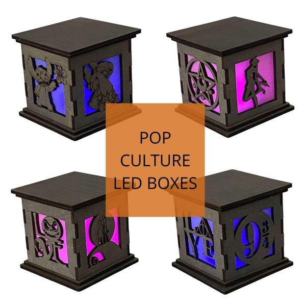 Pop Culture LED Centerpieces