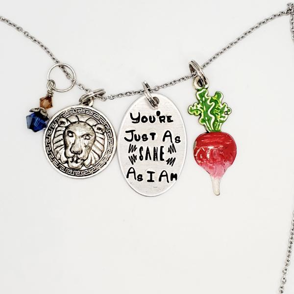 You're just as sane as I am - Harry Potter inspired - Charm Necklace picture