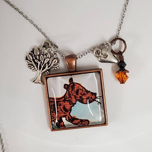 Tigger - Winnie The Pooh - Single Side Book Necklace picture