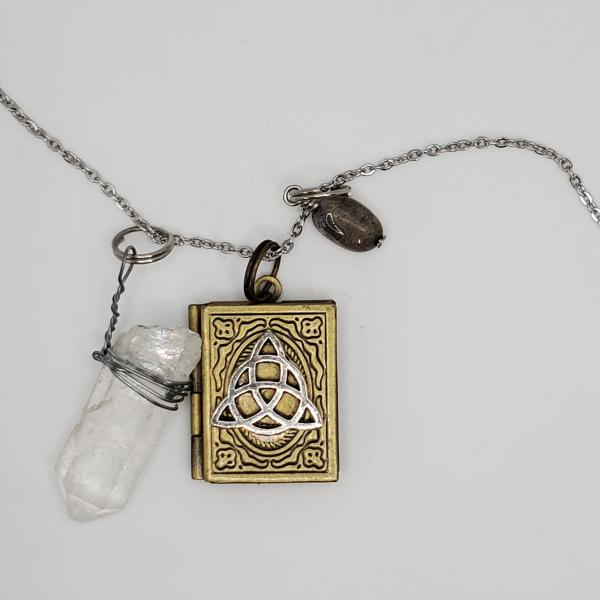 Book of Shadows - Charmed inspired Charm Necklace