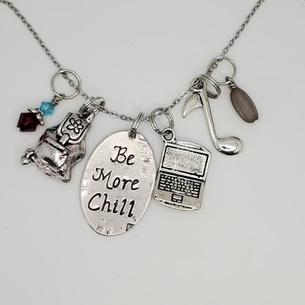 Be More Chill inspired - Charm Necklace
