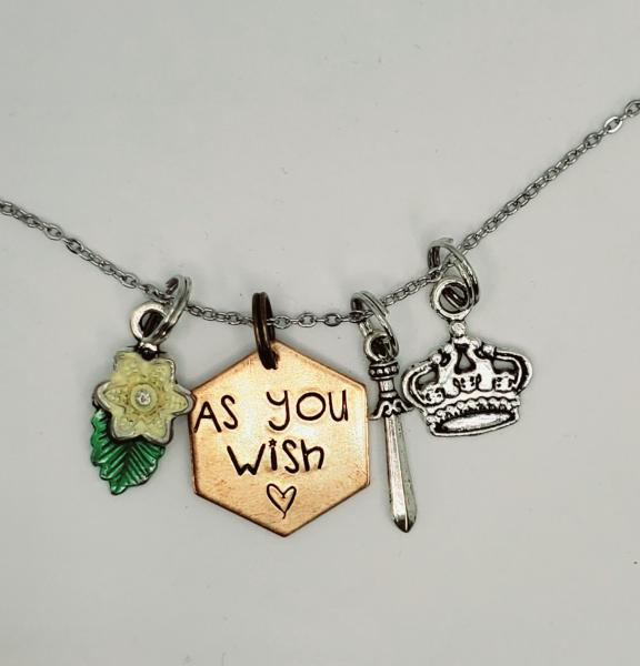 As you Wish - The Princess Bride - Charm Necklace picture