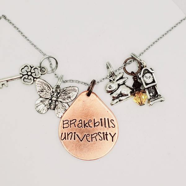 Brakebills University - The Magicians Inspired charm necklace