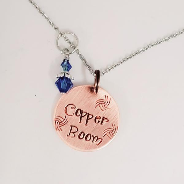 Copper Boom - Gilmore Girls inspired Charm Necklace