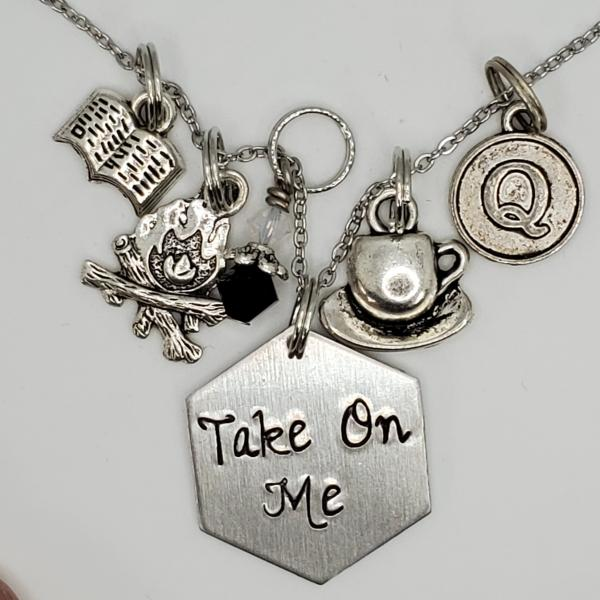 Take on Me - The Magicians inspired Charm Necklace