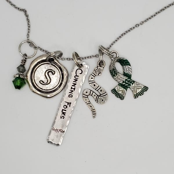 House Slytherin - Harry Potter inspired - Charm Necklace picture