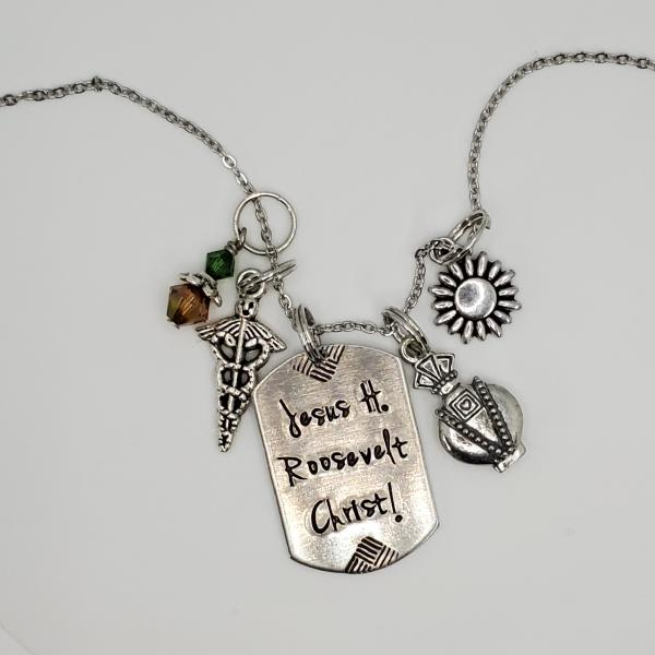 Sassenach - Outlander inspired charm necklace