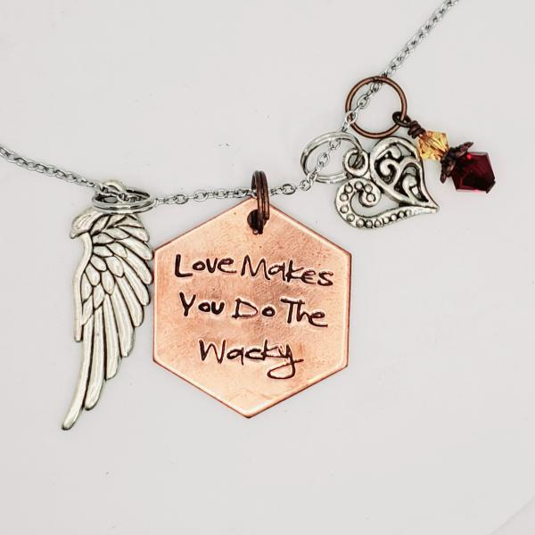 Love makes you do the wacky - Buffy inspired charm necklace