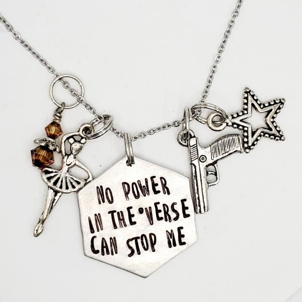 No power in the 'verse can stop me - Firefly Inspired Charm Necklace