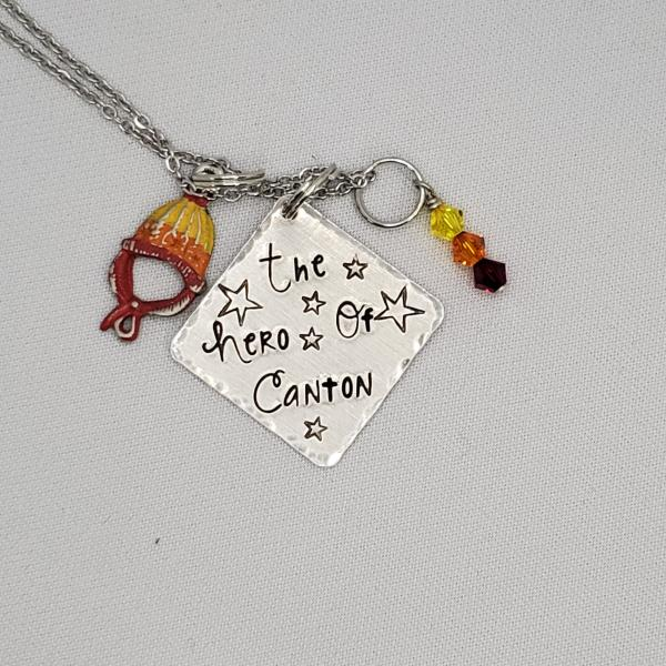 The Hero of Canton - Firefly Inspired Charm Necklace