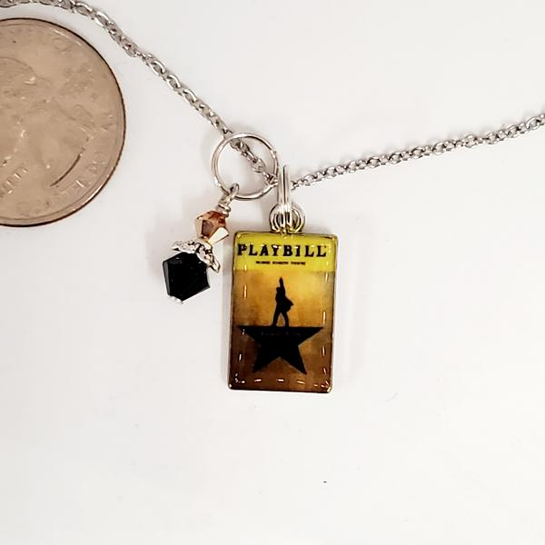 Hamilton Playbill - Charm Necklace