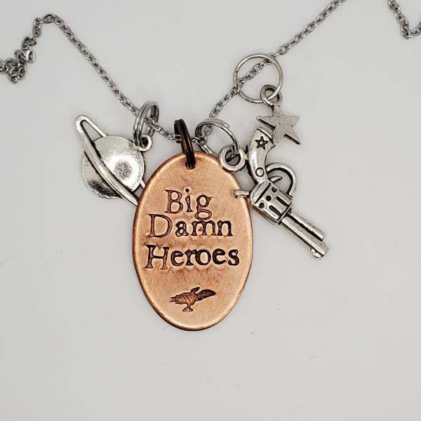 Big Damn Heroes - Firefly Inspired Charm Necklace