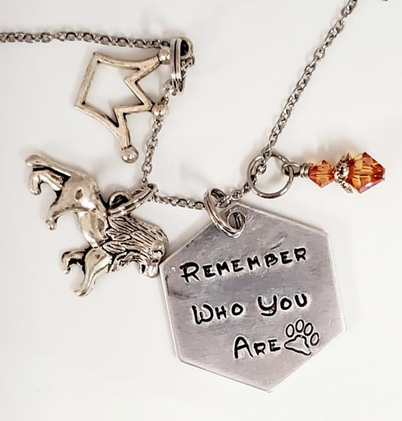 Remember who you are - The Lion king inspired - Charm Necklace