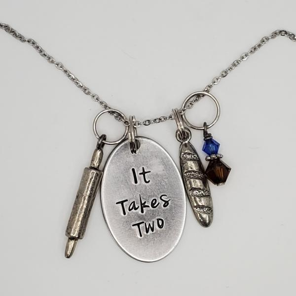 It takes two - Into the woods - Charm Necklace