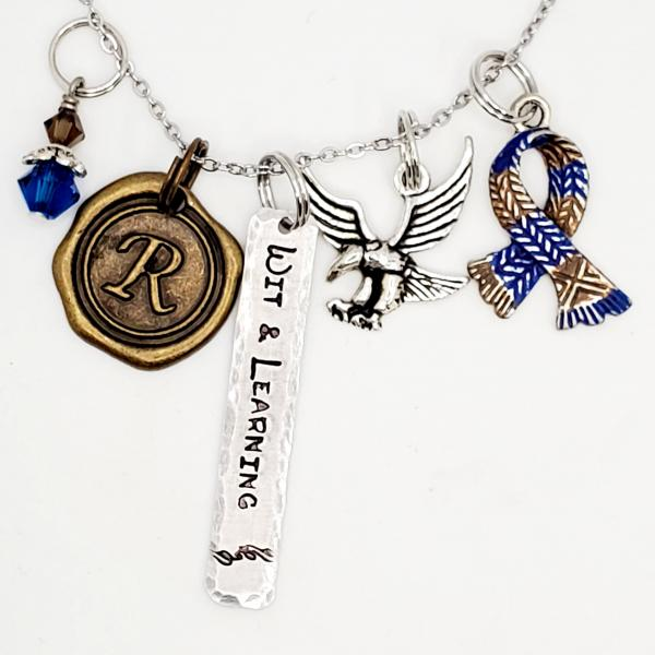Ravenclaw House - Harry Potter inspired - Charm Necklace picture