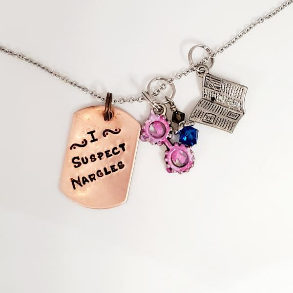 I Suspect Nargles - Luna Lovegood - Harry Potter inspired - Charm Necklace picture