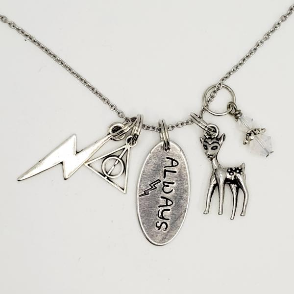 Always - Harry Potter inspired - Charm Necklace picture