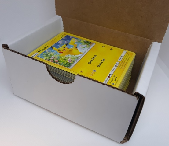 Mystery Box of 100 Pokemon Cards