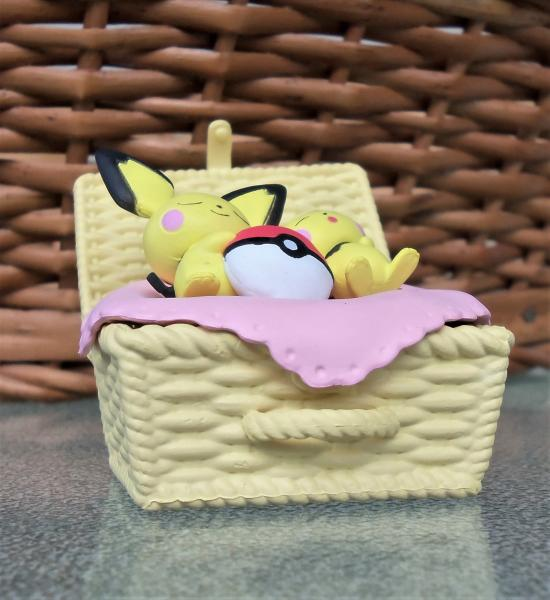 Pokemon Nap Basket Figures