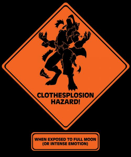 """Clothesplosion Hazard"" T-shirt"