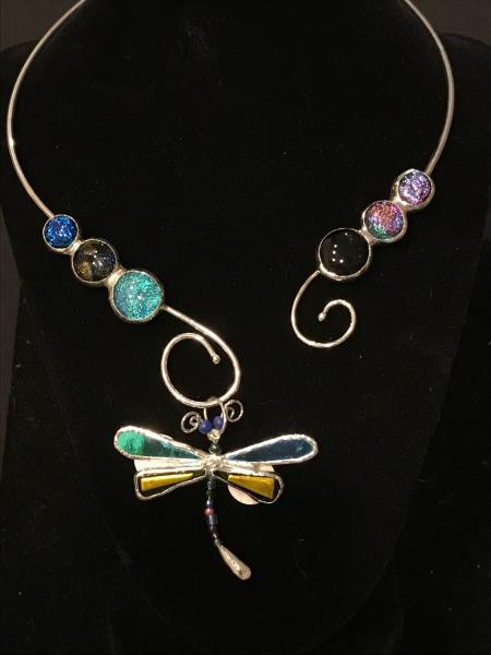 Collar - Dragonfly Wire Collar