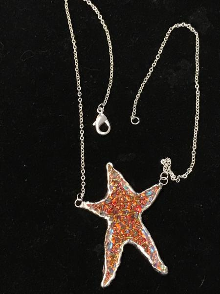 Necklace - Starfish Translucent Colors